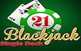 Демо без смс Single Deck Blackjack Professional Series